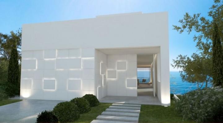 Neubau-Villa in erster Meereslinie