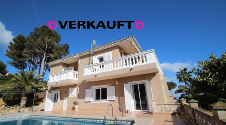Villa mit Meerblick nähe Puerto Portals