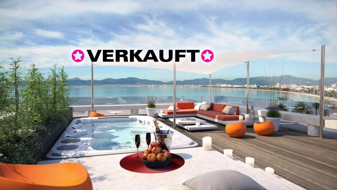 Lifestyle & more! Mega-Penthouse in S`Arenal