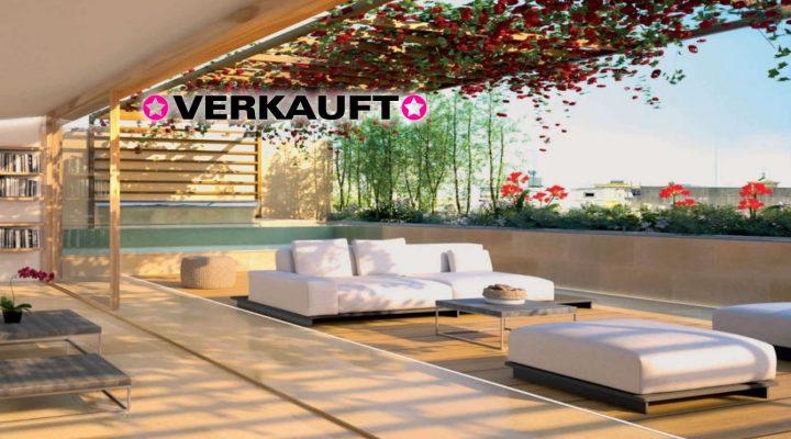 Futuristisches Luxus-Penthouse mit Megaterrasse
