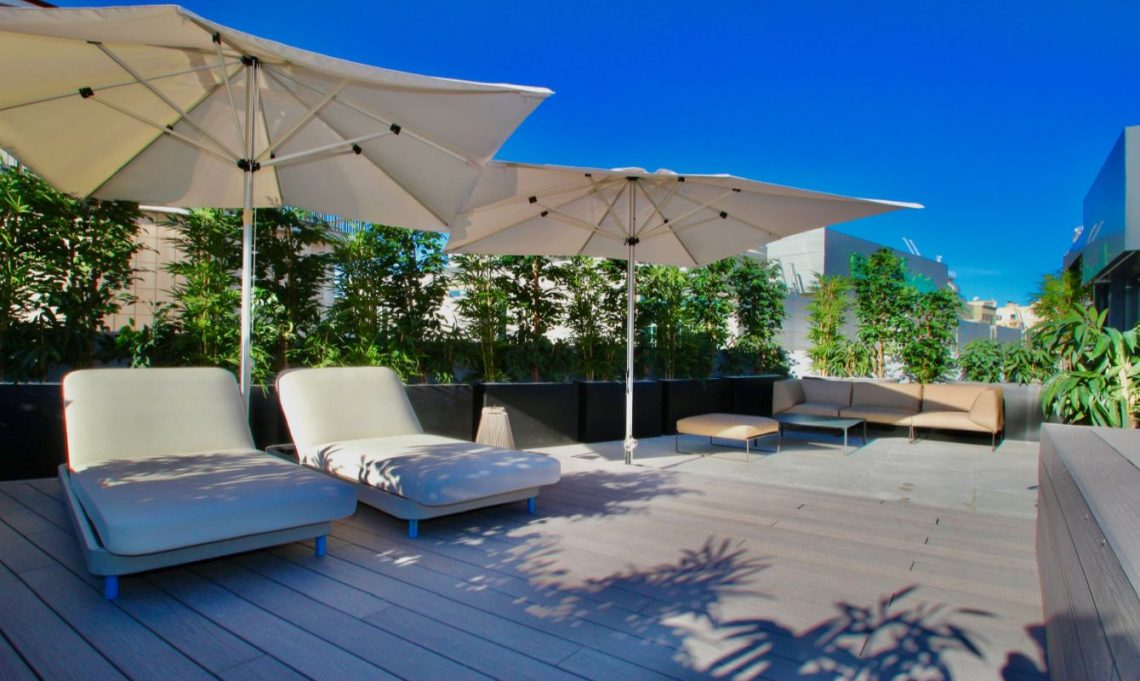 Luxus-Penthouse mit privatem Jacuzzi