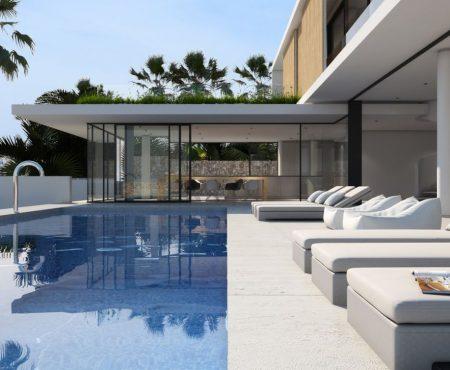Premium Villa mit Pool und Meerblick