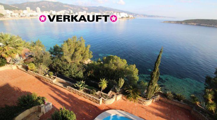 Luxusvilla mit privaten Meerzugang