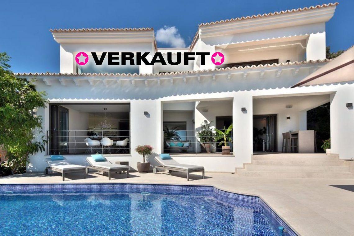 Designer-Villa mit Meerblick
