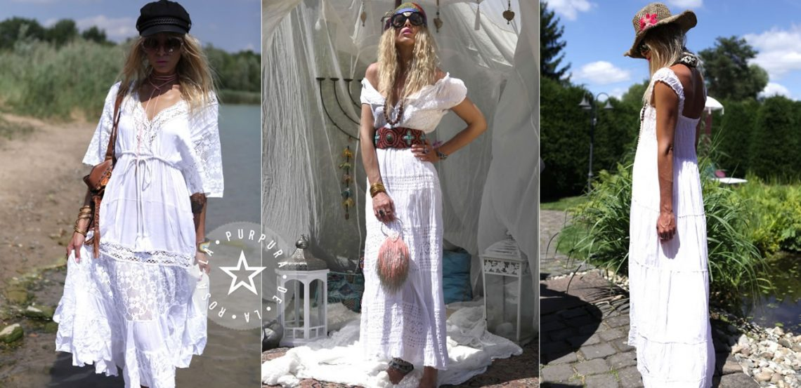 Sommertrend – Weisse Boho Fashion