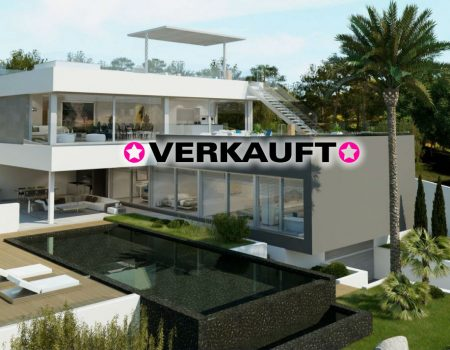 Futuristische Premium-Villa