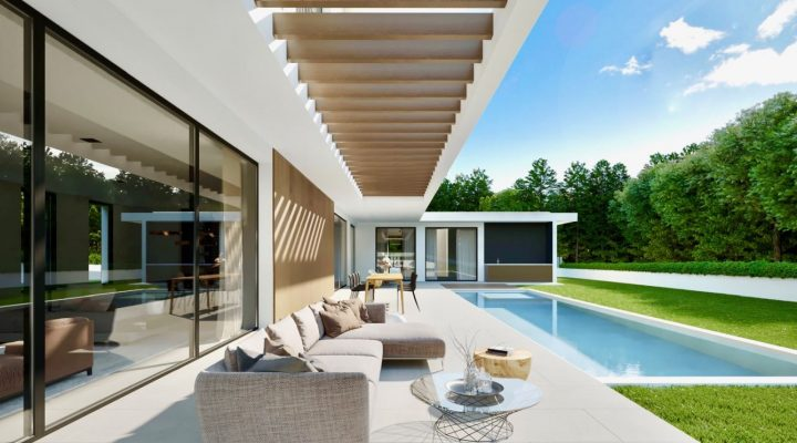 Lifestyle-Villa trifft Hightech