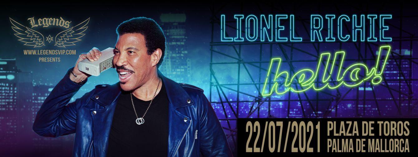ERSATZTERMIN 22.07.2021 LIONEL RICHIE- WORLD TOUR HELLO