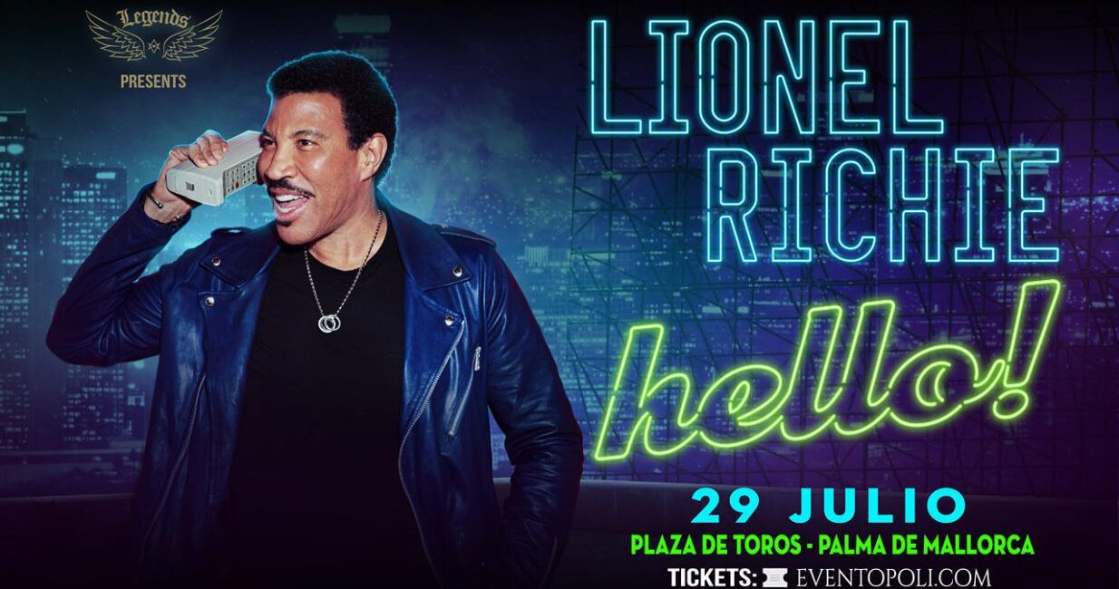 LIONEL RICHIE- WORLD TOUR HELLO 2020