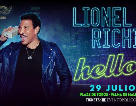 LIONEL RICHIE- WORLD TOUR HELLO 2020